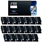 STORE SMART - Anti-Theft RFID Blocking Card Card Sleeves 100-Pack - RFIDCC100