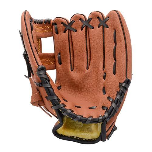 FerDIM Baseball Glove Teeball Glove for Kids/Youth/Adult Inch Right Hand Throw, Left Hand Glove (11.5