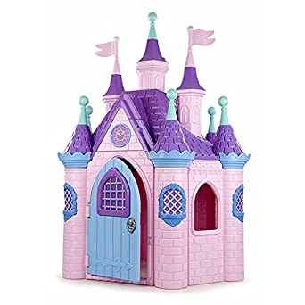 Ecr4kids Jumbo Princess Palace Playhouse Pink Amazon Com