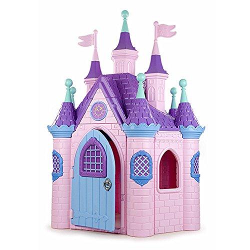 ECR4Kids Jumbo Princess Palace Playhouse (Pink)