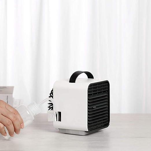 HZWLF Ventilador USB de Mano Mini refrigerador de Aire Recargable ...