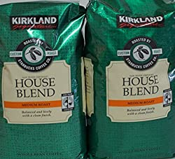Image of the product signatures kirkland starbucks bean coffee, medium that is listed on the catalogue brand of Kirkland Signature. This item has been rated with a 5.0 scores over 5