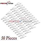 PRECISE CANADA: SET OF 50 DENTAL EXTRACTING FORCEPS #150 DENTAL EXTRACTION INSTRUMENTS