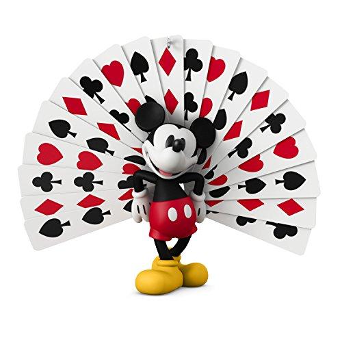 Hallmark Keepsake Christmas Ornament 2018 Year Dated, Disney Mickey's Movie Mouseterpieces Thru the Mirror