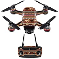 Skin for DJI Spark Mini Drone Combo - Western Horses| MightySkins Protective, Durable, and Unique Vinyl Decal wrap cover | Easy To Apply, Remove, and Change Styles | Made in the USA