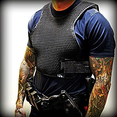 Armadillo Dry Cooling Vest - Body Armor Ventilation, Air Flow for Ballistic and Tactical Vests, Keeps You Cool Under Internal Carriers and External Carriers