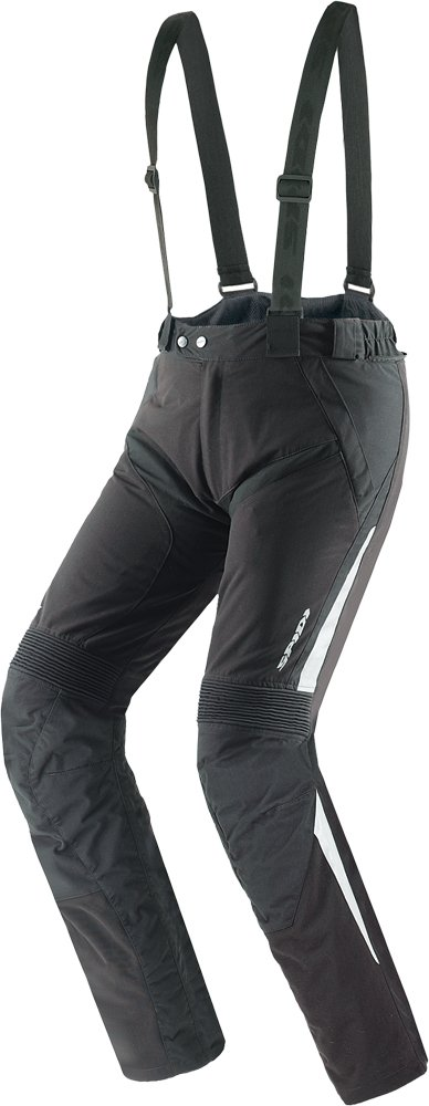 Spidi Sport S.R.L. VTM H2Out Pants , Size: 2XL, Distinct Name: Black Robust, Gender: Mens/Unisex, Primary Color: Black, Apparel Material: Textile U62-026-2X