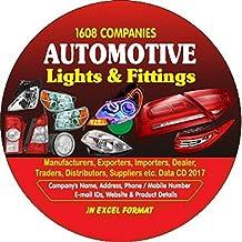 Automotive Light & Fittings Companies Data
