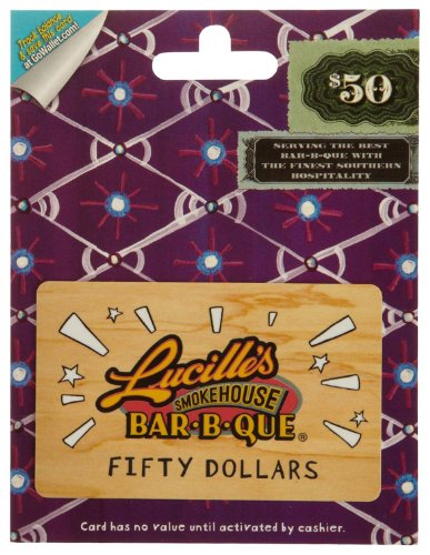 Amazon.com: Lucille's Smokehouse Bar-B-Q Gift Card $25: Gift Cards