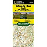 Colorado 14ers South [San Juan, Elk, and Sangre de Cristo Mountains] (National Geographic Topographic Map Guide)