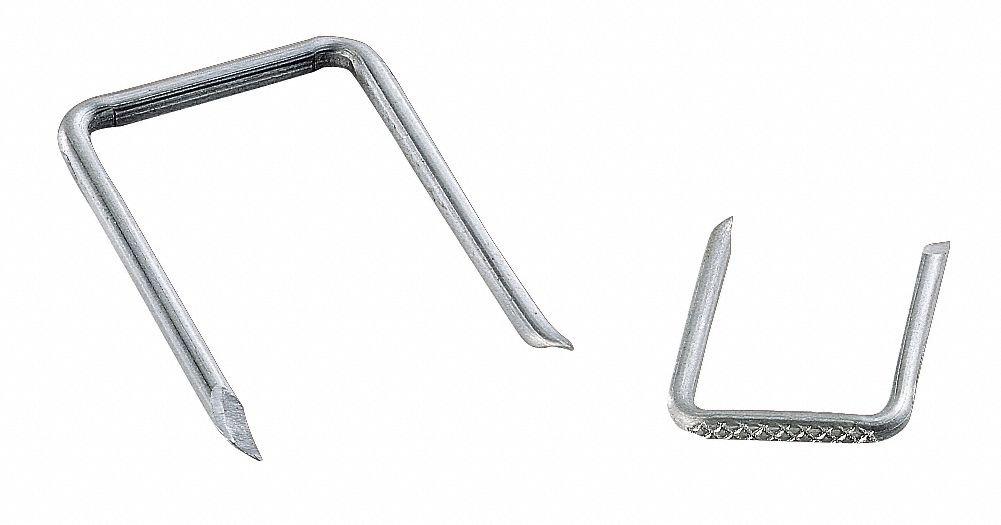 Gardner Bender Cable Staple, 1-5/8In, Steel, Srv E, Pk100 1-5/8'' Steel Steel GSE-710-1 Each