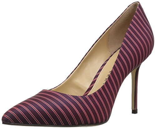 Katy Perry Women's The Sissy Pump, Mulberry, 7.5 Medium - Mulberry Collection Leather