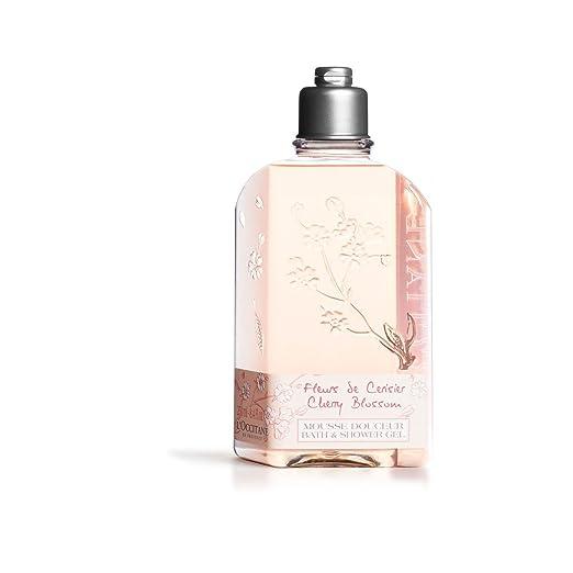 L'Occitane Delicate Cherry Blossom Bath & Shower Gel, 8.4 fl. oz.