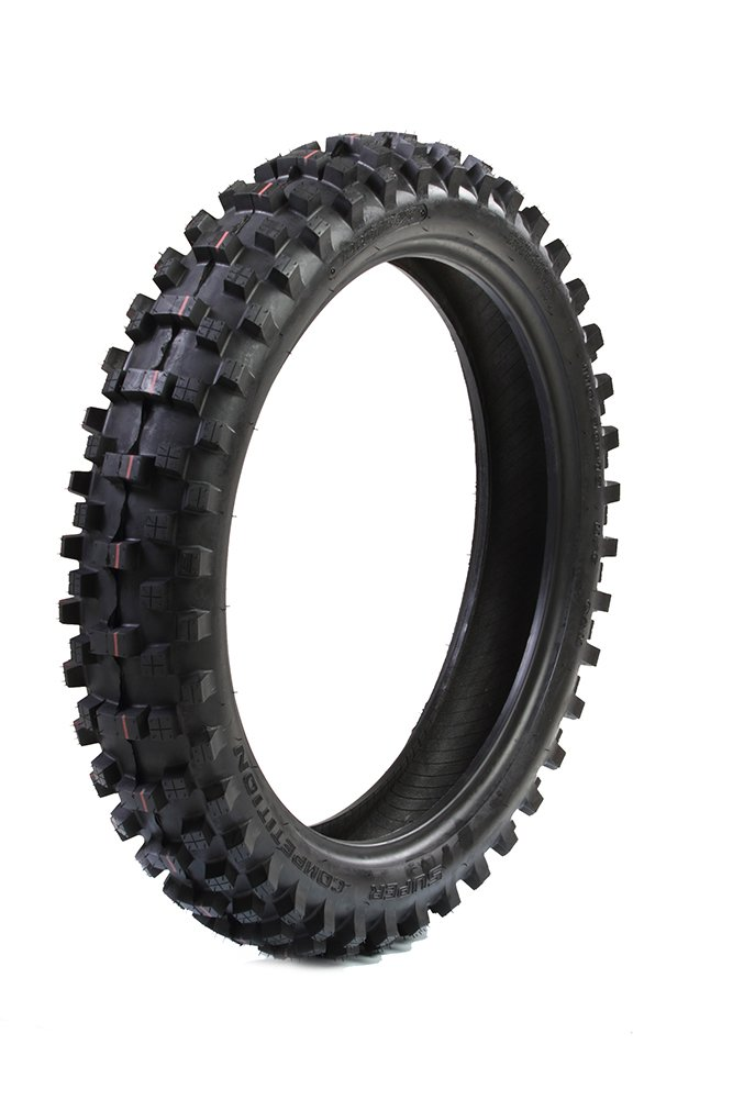 ProTrax PT1015 Motocross Off-Road Dirt Bike Tire 110/90-19 Rear Soft to Intermediate Terrain