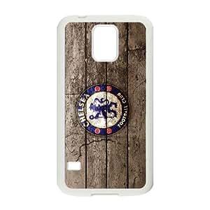Chelsea team logo series For Samsung Galaxy S5 I9600 Csaes phone Case THQ138639
