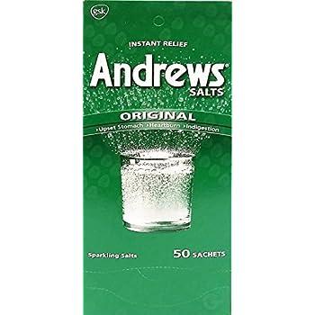 Sal Andrews Antacid 50 Envelopes - Antiacido (Pack of 1)