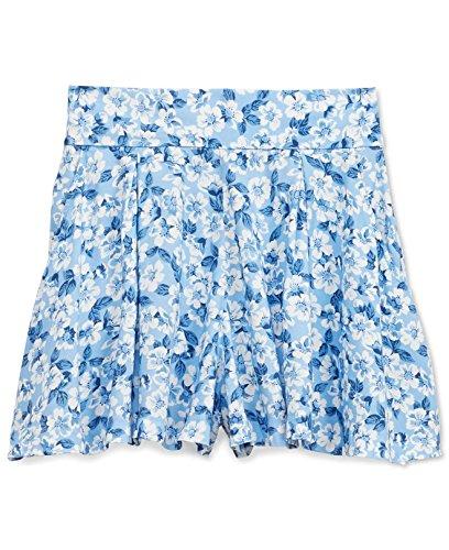 RALPH LAUREN Denim & Supply Women's Floral-Print Pleated Shorts (30, Kendall Floral) -