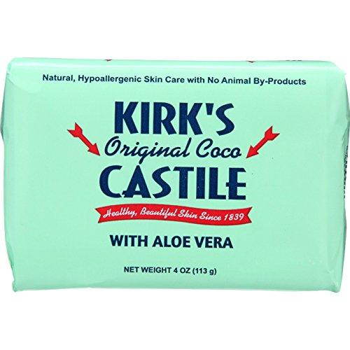 CASTILE SOAP BAR, ALOE