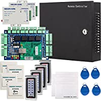 UHPPOTE Network RFID Access Control Panel Kit System W/ Power Supply Keypad Reader Card