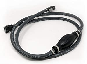 Five Oceans EPA Fuel Line Kit for All Mercury Engine Connection and Original Mercury Fuel Tank Connection 1998 and Up, 3/8 inches Hose FO-4282