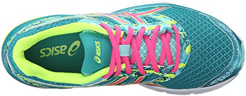 Entrenamiento Asics En Asfalto Gel hot Lapis Zapatos 4 excite safety Carrera Mujer De Yellow Pink rxX80xRw