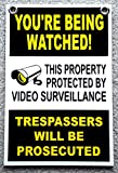 youre a good skate - 1Pc Unblemished Popular You're Being Watched Yard Signs Lawn Declare Surveillance Coroplast Size 8