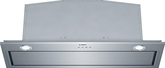 Bosch DHL885C - Campana (Canalizado/Recirculación, 730 m³/h, A, Built-under, LED, 266 Lux) Acero inoxidable