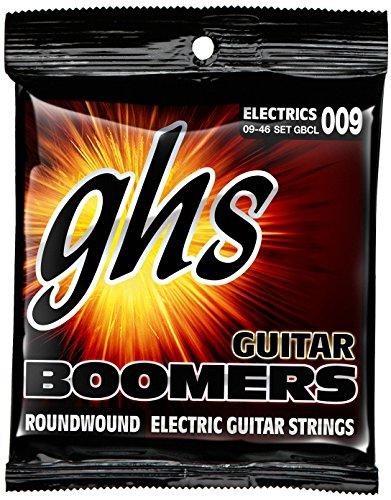 GHS GBCL Boomers Electric Guitar String Set - Custom Light 9-46