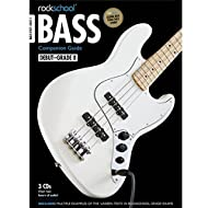 ROCKSCHOOL BASS GUITAR COMPANION GUIDE - BOOK AND 3 CDs 2012-2018