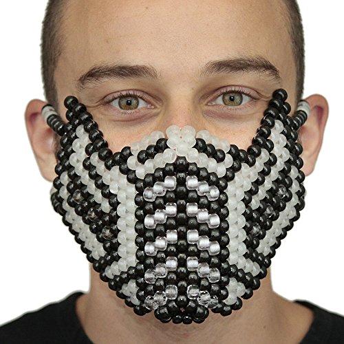 [Kandi Mask From Kandi Gear - Glow in the Dark Subzero 2nd Edition Kandi Mask] (Sub Zero Costumes)