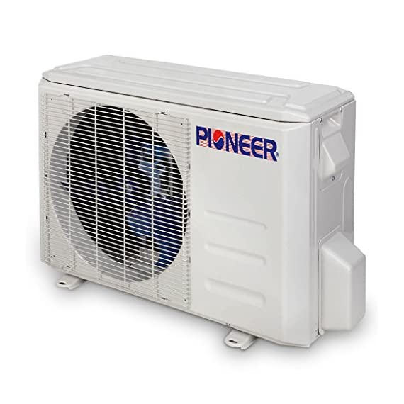 PIONEER Air Conditioner Inverter+ Ductless Wall Mount Mini Split System Air Conditioner & Heat Pump Full Set 4 Ultra high efficiency inverter+ ductless mini split heat pump system Cooling capacity: 9, 000 BTU/H with 17.0 SEER efficiency Heating capacity: 9, 500 BTU/H with 9.0 hspf efficiency
