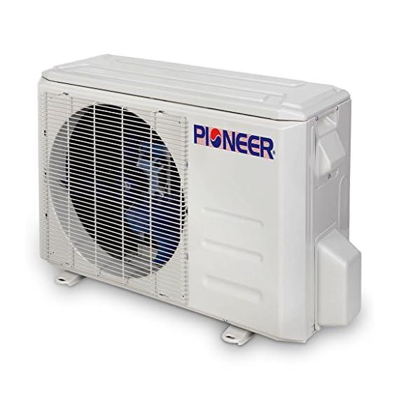 PIONEER Air Conditioner Pioneer Mini Split Minisplit Heatpump 9000 BTU-110/120 V 4 <p>Ultra high efficiency inverter+ ductless mini split heat pump system Cooling capacity: 9, 000 BTU/H with 17.0 SEER efficiency Heating capacity: 9, 500 BTU/H with 9.0 hspf efficiency Voltage: 110~120 VAC, 60 hertz (standard household power, l-n-g) Please see the active links on this page for full specks, manuals, etc</p>