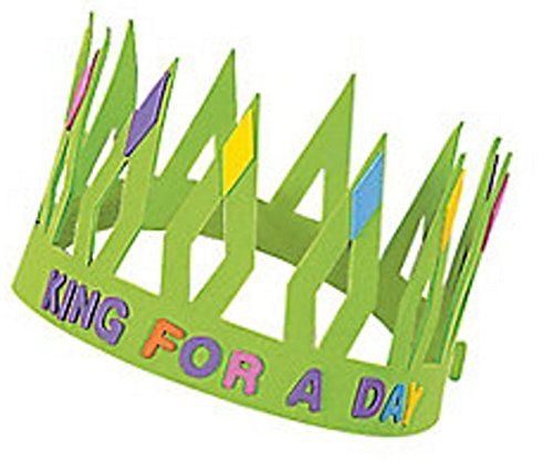 Crown Kits with Stick-on Shapes and Letters, Dozen