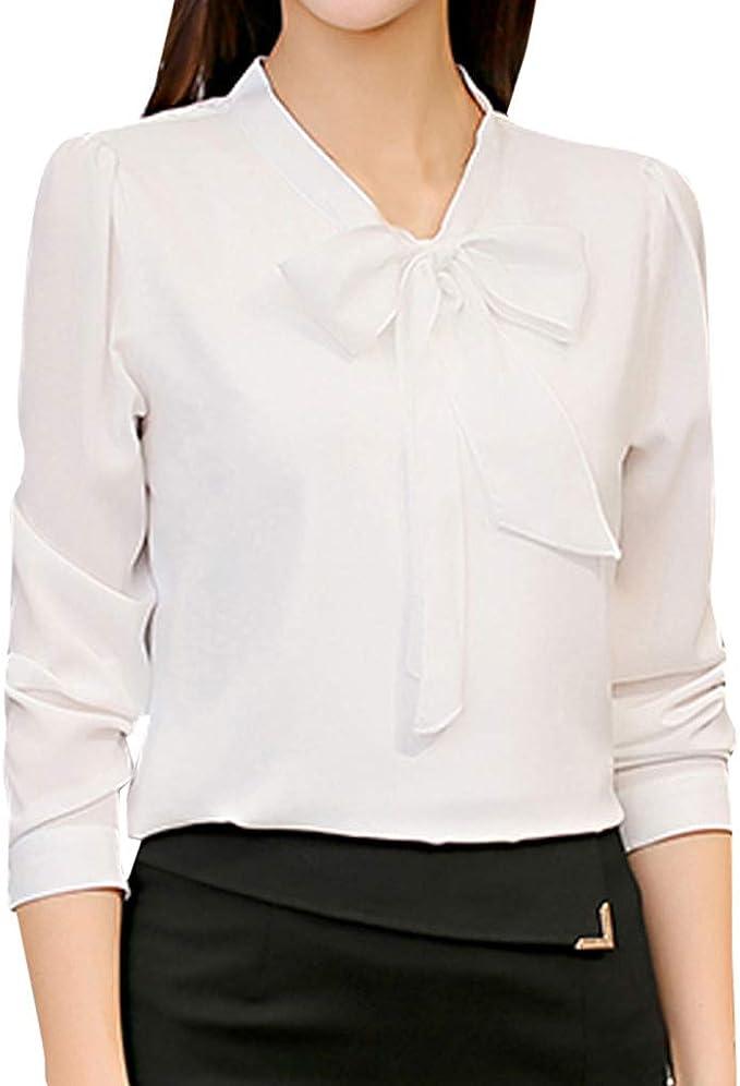 Bluestercool Bluse e Camicie Donna Casual Tinta Unita