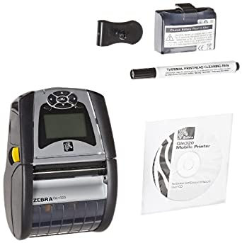 Amazon com: Zebra QLn320 Mobile Printer- 3 Inch printer with
