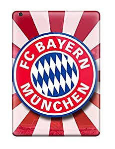 New Arrival Case Cover With EXAvwvy396JcORU Design For Ipad Air- Bayern Munchen Fc Logo