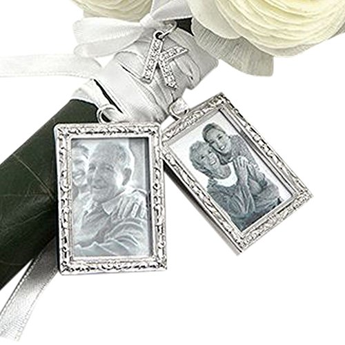 DB Excl Photo Bouquet Charm Set Style SET1467-W, A