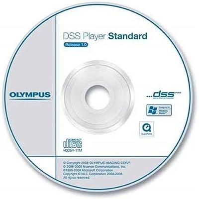 Olympus - Software de transcripción Basic DSS Pro Transcription para reproducción (DSS, DSS Pro, WMA, MP3)