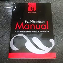 Apa publication manual 5th edition best setting instruction guide publication manual of the american psychological association 2007 rh amazon com apa publication manual 6th edition fandeluxe Choice Image