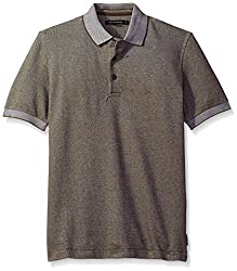 French Connection Men's Summer Jumbo Pique, Tarmac, S