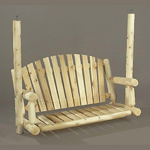 4' American Garden Log Swing [Seat Only] (Log American Garden Swing)