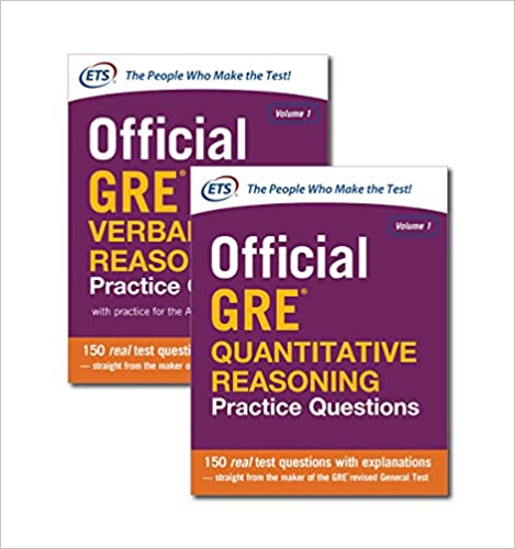 Official GRE Value Combo: Educational Testing Service