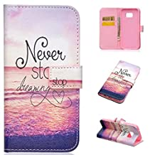 Samsung Galaxy S7 Case, Galaxy S7 Case Wallet,Kmety Premium PU Leather Flip Carrying Magnetic Closure Protective Shell Wallet Case Cover for Samsung Galaxy S7 with Kickstand Stand