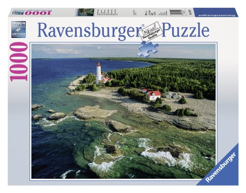 (Ravensburger Lighthouse, Bruce Peninsula and Canada Jigsaw Puzzle (1000-Piece))
