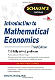 img - for Schaum's Outline of Introduction to Mathematical Economics, 3rd Edition (Schaum's Outline Series) by Edward T. Dowling (2011-10-01) book / textbook / text book