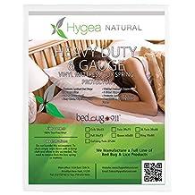 Full/ Double Size Bed Bug Mattress Cover or Box Spring Cover | VINYL | 100% Waterproof Mattress Protector - Dust Mite & Allergen Proof Mattress Encasement - Hygea Natural
