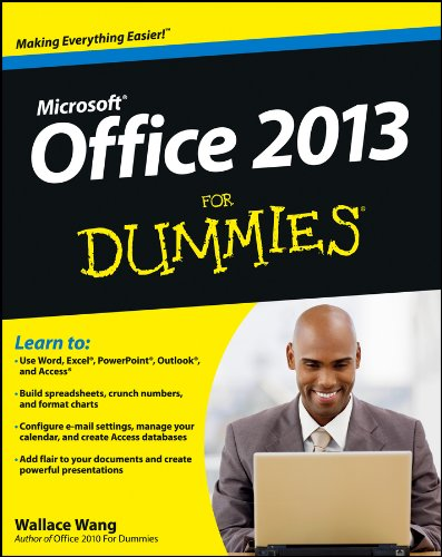 Office 2013 For Dummies (Microsoft Office Outlook 2013 Tips And Tricks)