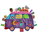 Label Label The Love Bus Groovy Girl Sensory Tag Mini Play Blankie