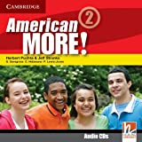 img - for American More! Level 2 Class Audio CDs (2) book / textbook / text book