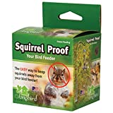 Squirrel Proof Spring Deters Climbing Rodents From Bird Feeder & House Poles